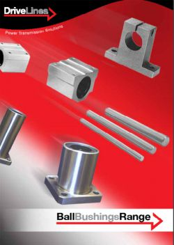 Drive Lines Ball Bushings Brochure