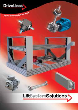 Drive Lines Lift Soluion Brochure