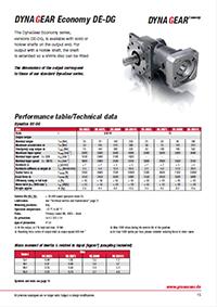 DynaGear-Economy-Performance-table