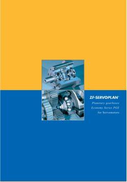 Servoplan Planetary Gearbox PGE