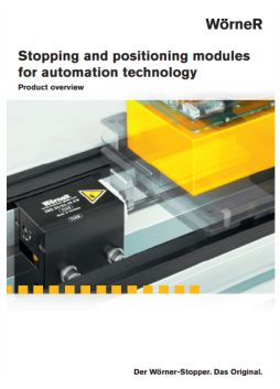 Worner Stopping and Positioning Modules Brochure