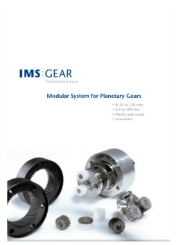 IMS Planetary gearbox brochure