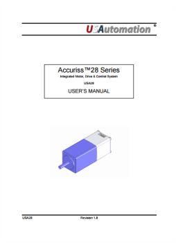 Accuriss User Manual USA28