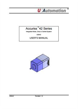 Accuriss User Manual USA42 Rev1.3