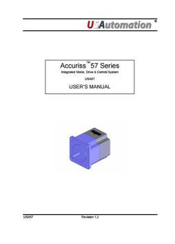 Accuriss User Manual USA57