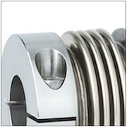 Metal Bellows Couplings with Clamp