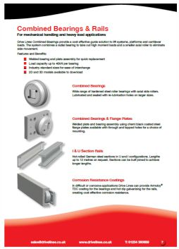 Combined Bearings & Rails extra