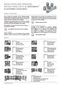 Installation Instructions Series ES Torque Limiter