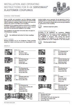Installation Instructions Servomax