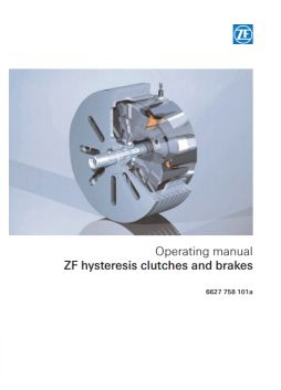Operating Instructons - Brakes & clutches