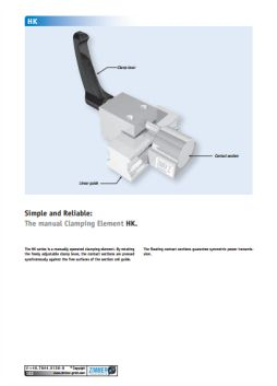 Zimmer HK Manual Clamp