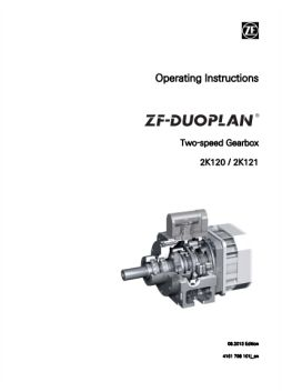 2K120-and 2K121 Operating Instructions