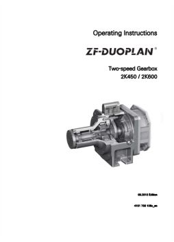 ZF, Duoplan, Two Speed, Gearbox, 2K