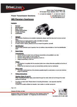 IMS Installation Instructions